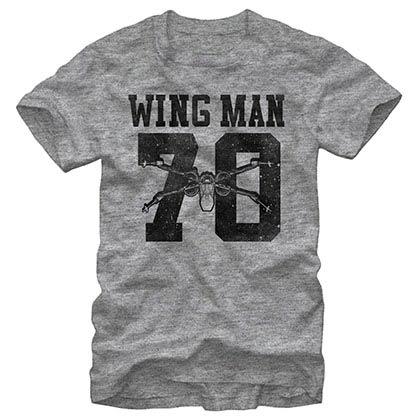 Star Wars Episode 7 Wingman Gray T-Shirt