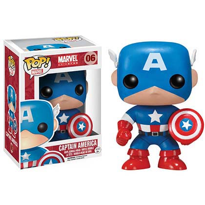 Funko Captain America Pop Bobble Head