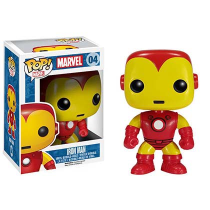 Funko Iron Man Pop Bobble Head