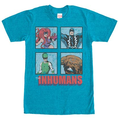 Marvel Teams Royals Blue Mens T-Shirt