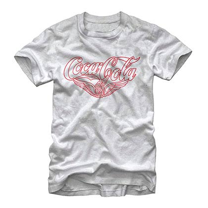 Coca-Cola Vintage Wings White T-Shirt
