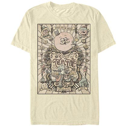 Regular Show Tea Time Beige T-Shirt