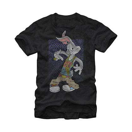 Looney Tunes Bugsie Black T-Shirt