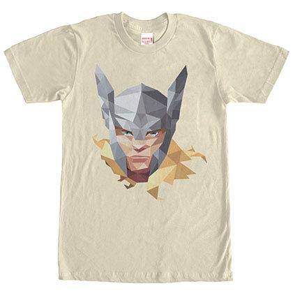 Thor Geo Beige Mens T-Shirt