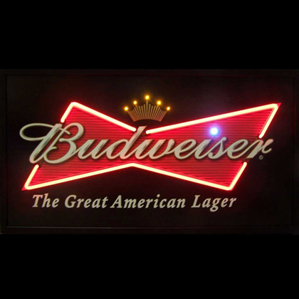 Budweiser Bowtie Neon Led Picture