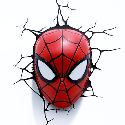 Spiderman Comic 3D Night Light
