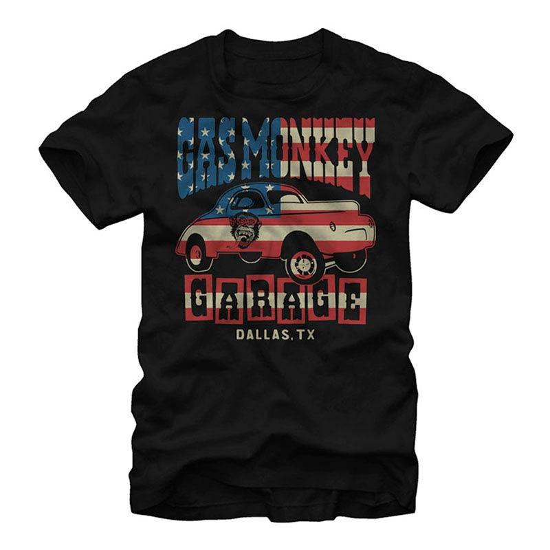 Gas Monkey Garage Life's a Drag Black T-Shirt