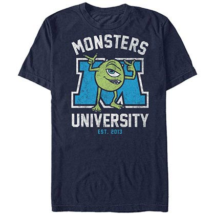 Disney Pixar Monsters Inc University First Day Blue T-Shirt