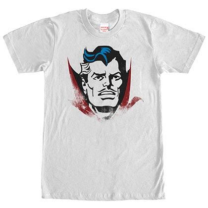 Dr. Strange Dr. Head White Mens T-Shirt