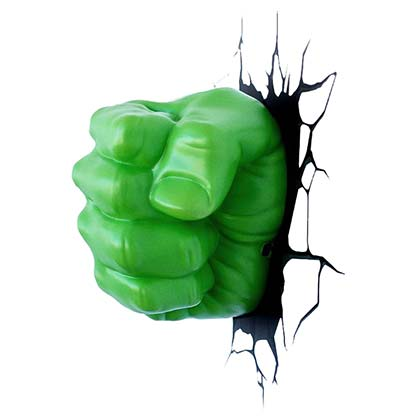 Incredible Hulk Comic 3D Night Light