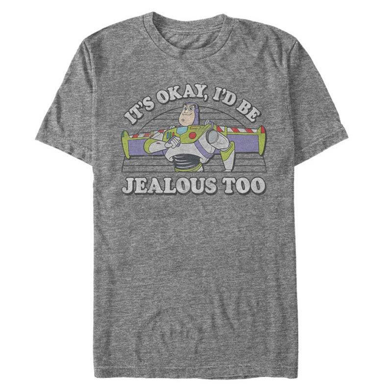 Disney Pixar Toy Story 1-3 Jealous Too Gray T-Shirt