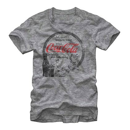 Coca-Cola All Sport Gray T-Shirt