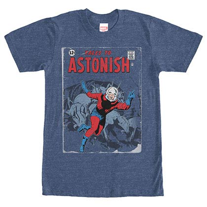 Ant-Man Ant Tales Blue Mens T-Shirt