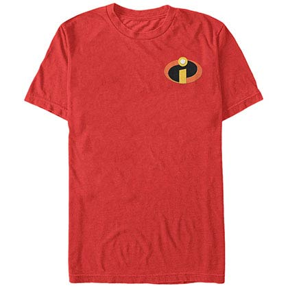 Disney Pixar The Incredibles Incredipop Red T-Shirt