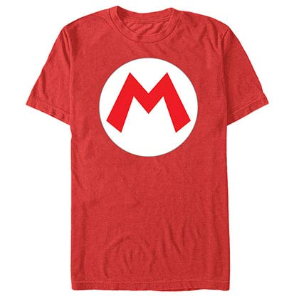 Nintendo Mario Icon Red T-Shirt
