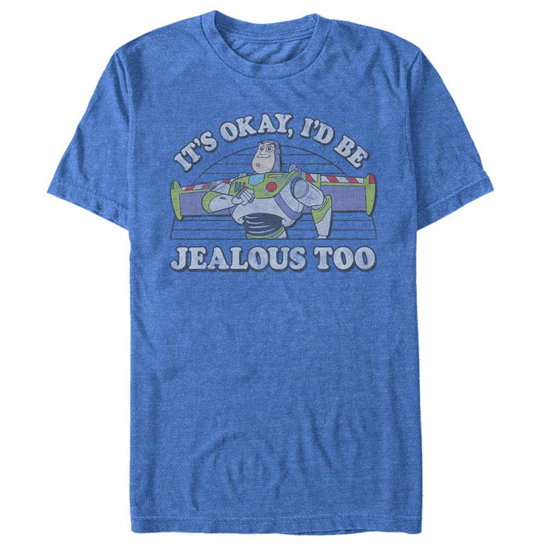Disney Pixar Toy Story 1-3 Jealous Too Blue T-Shirt