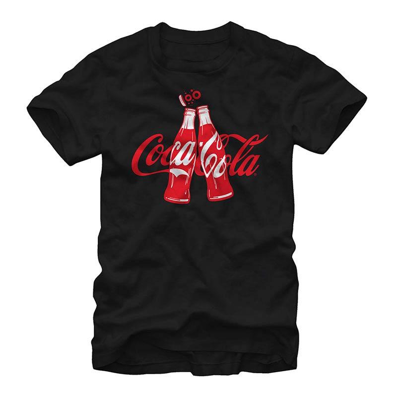 Coca-Cola Coke Clink Black T-Shirt