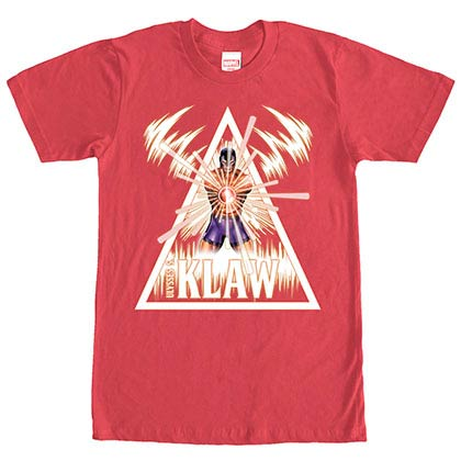 Marvel Teams The Klaw Red Mens T-Shirt