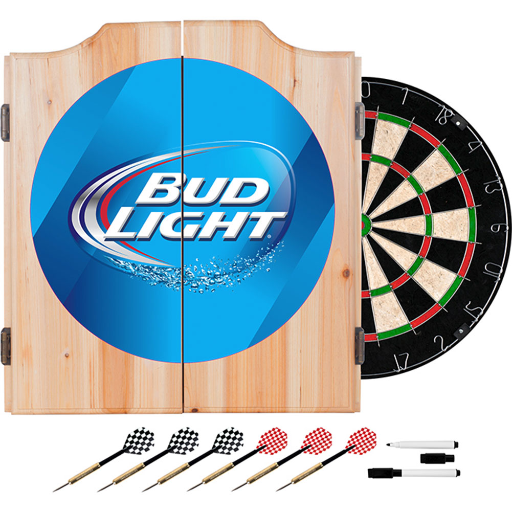 Bud Light Dart Board Cabinet FREE SHIPPING