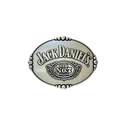 Jack Daniels Old No. 7 Silver Belt Buckle
