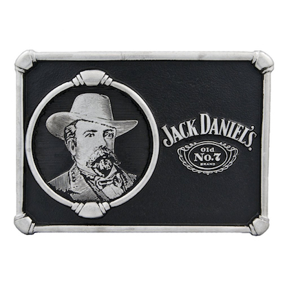Jack Daniels Portrait Belt Buckle