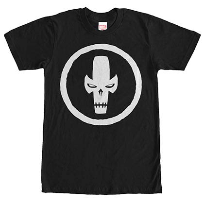 Captain America: Civil War Cross Bones Mask Black Mens T-Shirt
