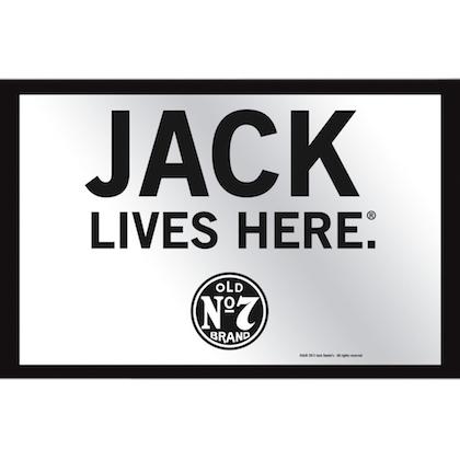 Jack Daniels Jack Lives Here Mirror