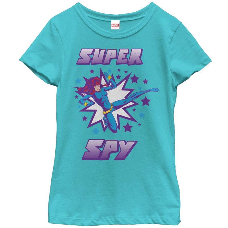 Marvel Teams Super Spy Blue Youth T-Shirt