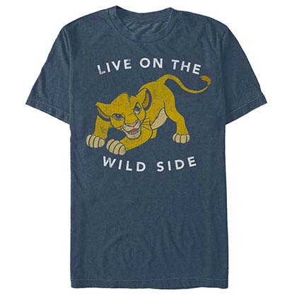 Disney Lion King Wild One Blue T-Shirt