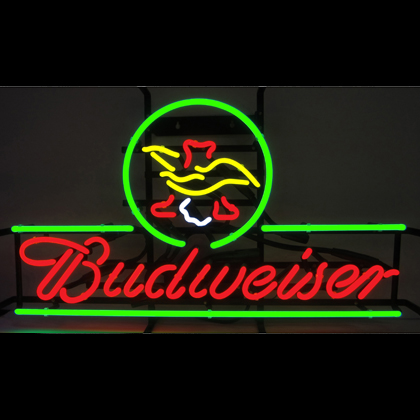 Budweiser American Eagle Neon Sign