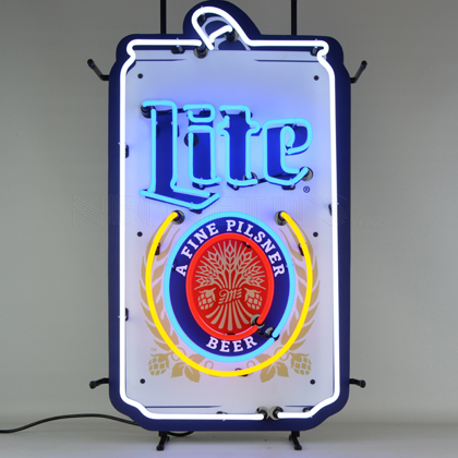Miller Lite Can Neon Sign