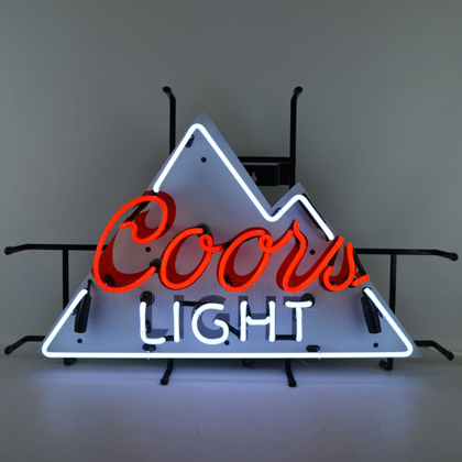 Coors Light Mountain Neon Sign