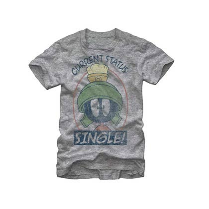 Looney Tunes Current Status Gray T-Shirt