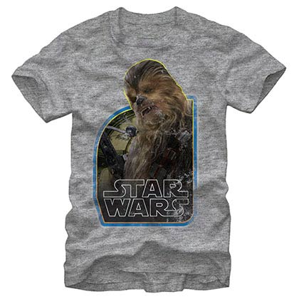 Star Wars Episode 7 The Wookie Gray T-Shirt