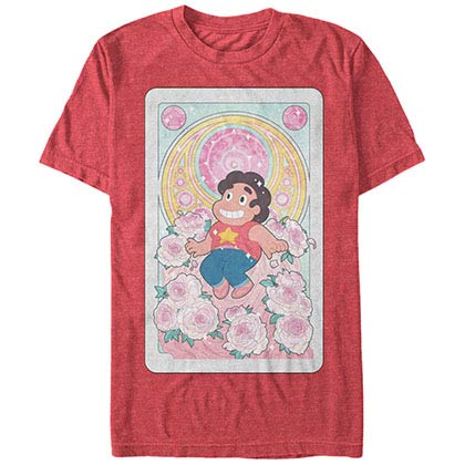 Steven Universe Steven Card Red T-Shirt