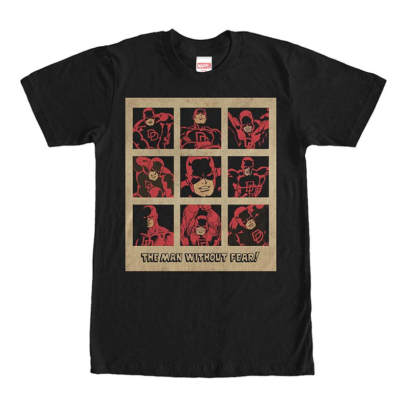 Daredevil Vintage Black Mens T-Shirt
