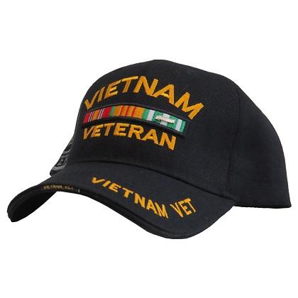 Patriotic Vietnam Veteran Hat
