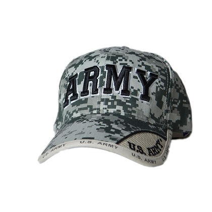 Patriotic US Army Digital Camo Hat
