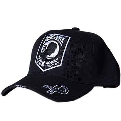 Patriotic POW MIA Not Forgotten Hat