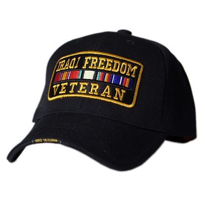Patriotic Iraqi Freedom Veteran Hat