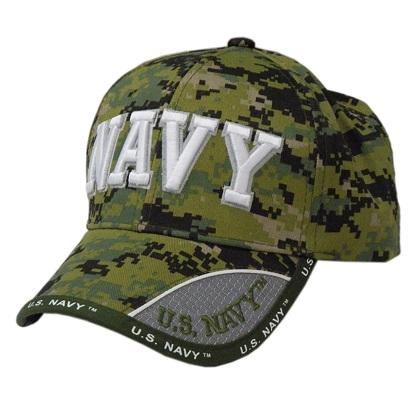 Patriotic US Navy Camo Hat