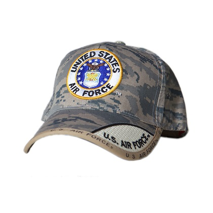 Patriotic US Air Force Camo Hat