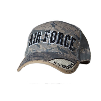 Patriotic US Air Force Digital Camo Hat