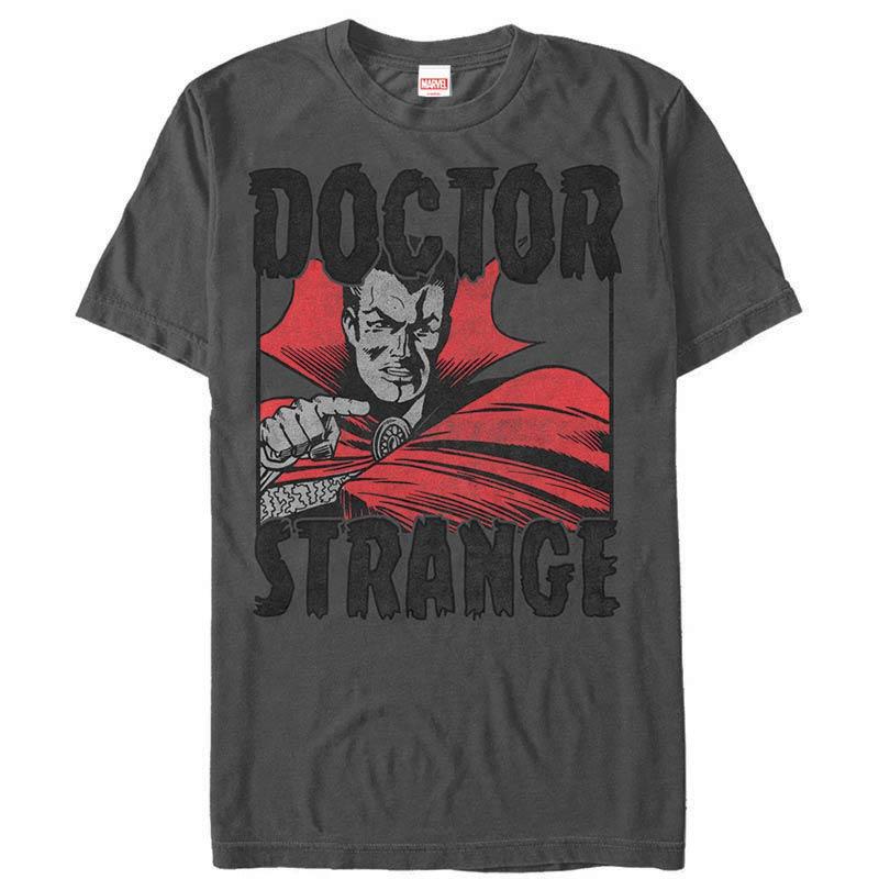 Dr. Strange YOU Gray Mens T-Shirt