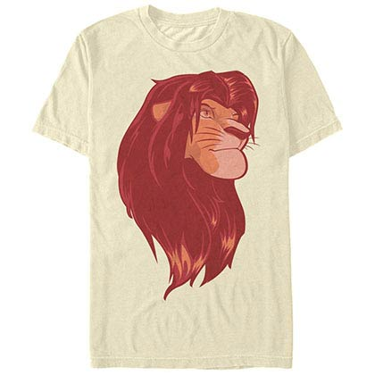 Disney Lion King King Beige T-Shirt
