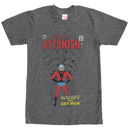 Ant-Man Getting Big Gray Mens T-Shirt