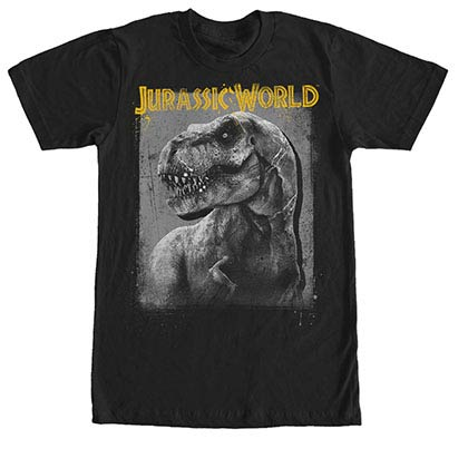 Jurassic World Rex Mug Black T-Shirt
