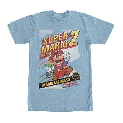 Nintendo Mario Madness Blue T-Shirt