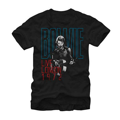 David Bowie Take The Stage Black T-Shirt
