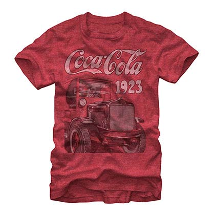 Coca-Cola Keep On Truckin Red T-Shirt